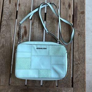 Michael Kors Crossbody Baby Blue Bag